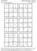 Sudoku Kostenlos Drucken