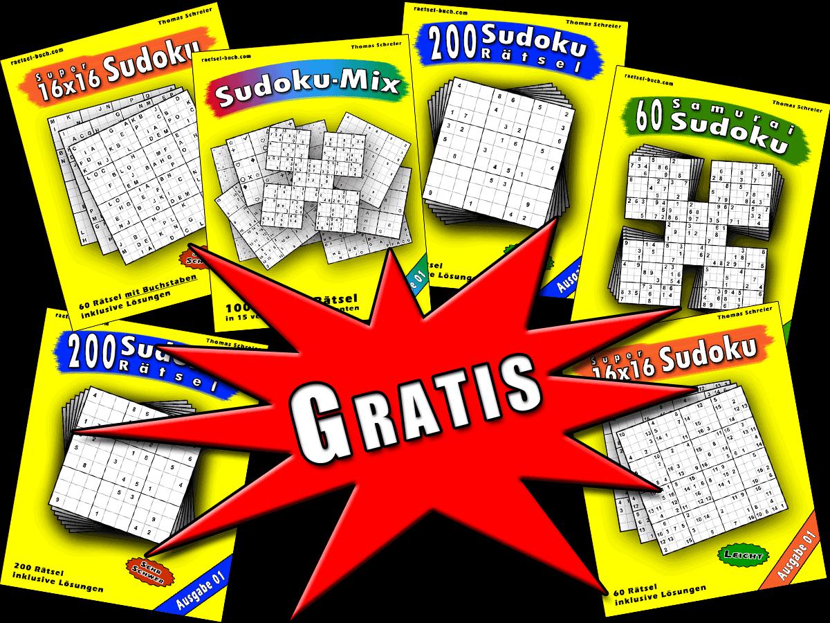 Gratis Sudoku-Buch